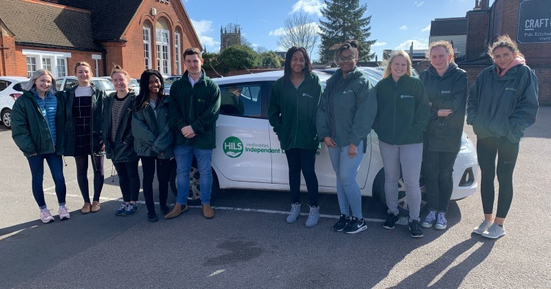 Nutrition and Hydration Week 2019 - Student dietitians join HILS in delivering meals on wheels!