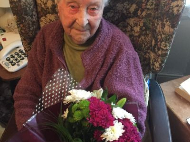 Our oldest client celebrates 104th birthday