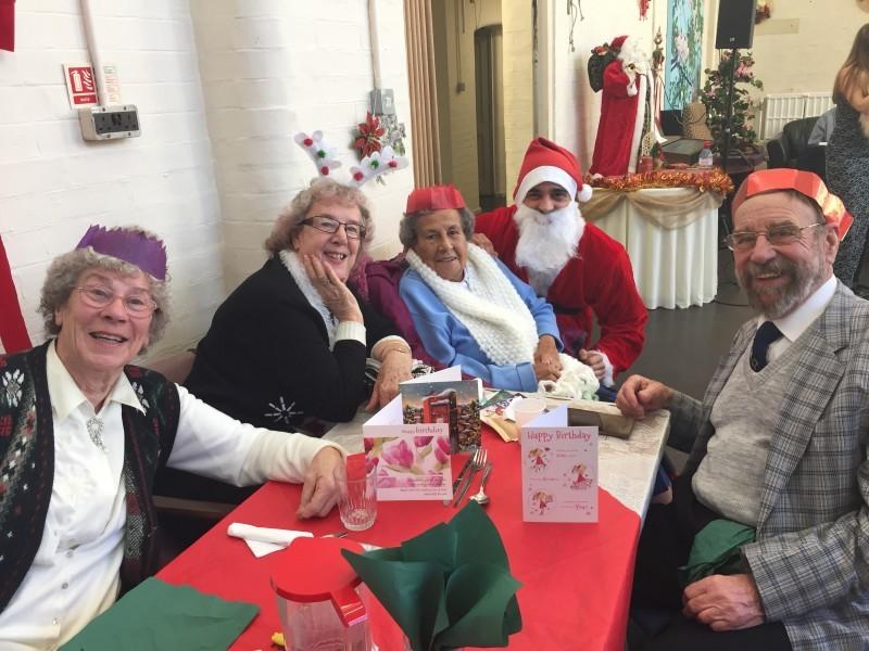 We provide good food, good company and good tidings on Christmas Day