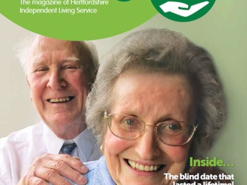 Launch of our first magazine - 'Independent Living'