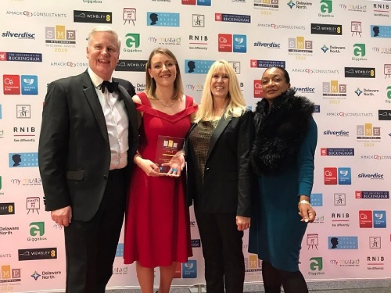 HILS named 'Not-for-Profit of the Year' at the 2019 SME National Business Awards