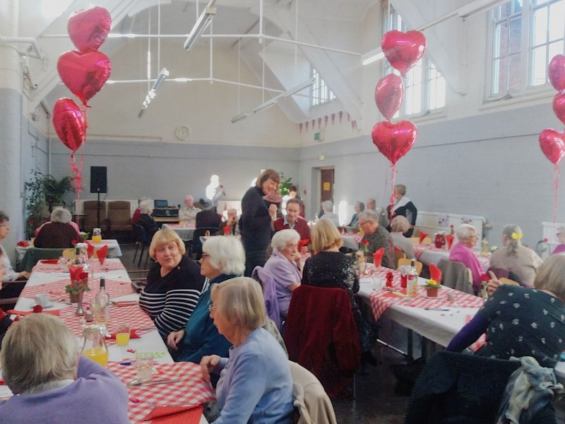 Flourishing friendships: HILS' Valentine's Day 'Love Your Community' get-together helps to battle loneliness and isolation